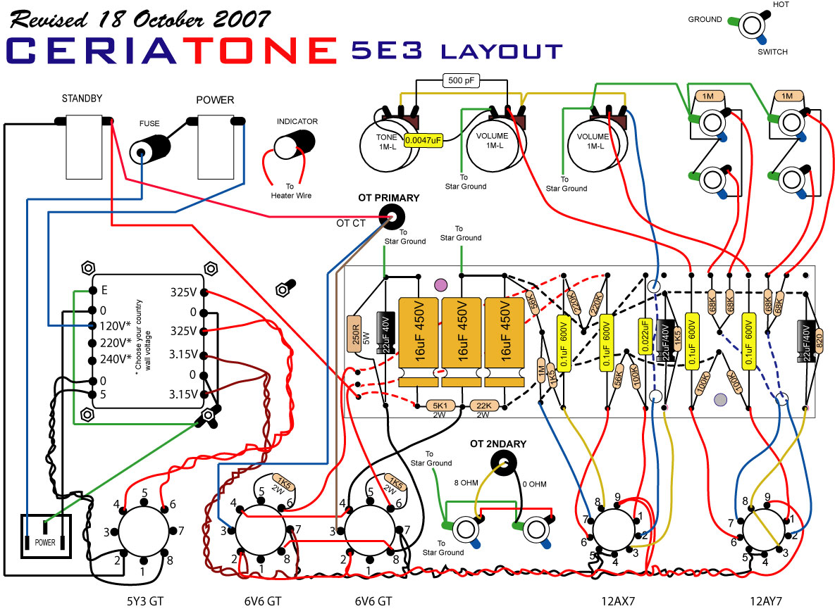 Johnson Guitar Amp Schematic Wire Data Schema Tube Diagram 100 Watt Get Free Image About Wiring Diy Schematics Mini